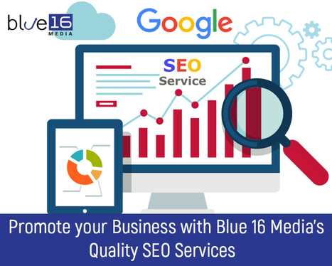 Promote your Business with Blue 16 Media's Quality SEO Services