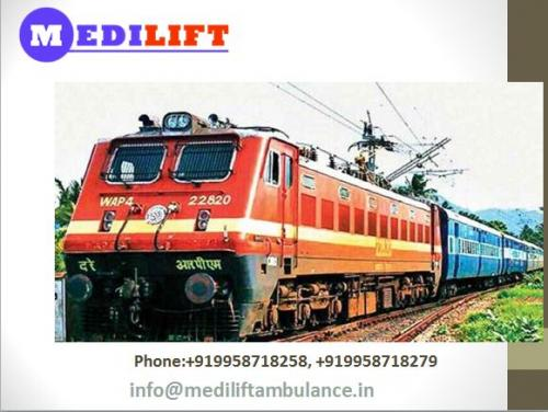 Obtained Rapid Transferring Service with Medilift Train Ambulance in Vellore