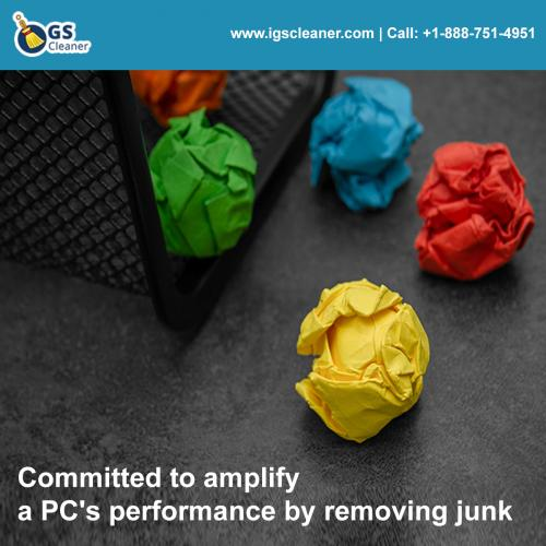 Committed to amplify a PC's performance by removing junk