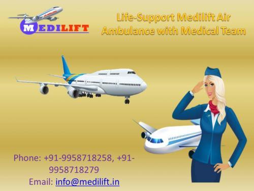 Book Medilift Complete Medical Facility Air Ambulance Patna