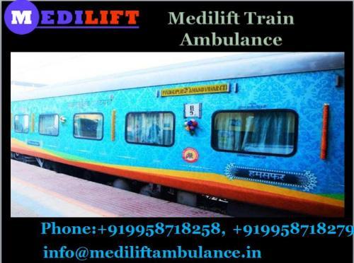 Get Unique Medical Facilities in Medilift Train Ambulance in Delhi