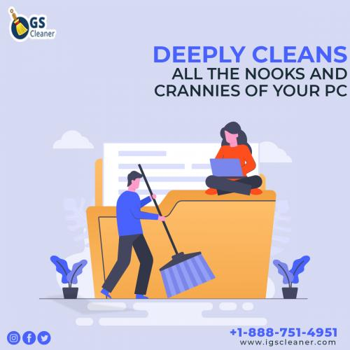 Deeply Cleans All the Nooks and Crannies of your PC