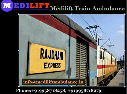 Medilift Train Ambulance Provide Service at Reasonable Price in Kolkata