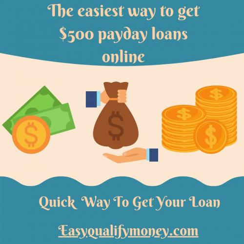 500 Dollar Payday Loans Online - Easy Qualify Money