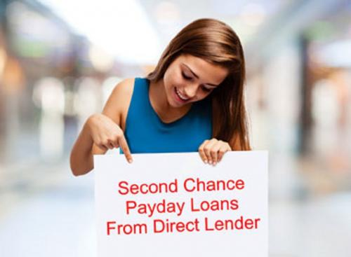 2nd Chance Payday Loans from Direct Lender - Easy Qualify Money