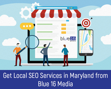 Get Local SEO Services in Maryland from Blue 16 Media
