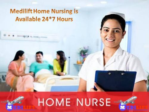 Just Call Us for the Best Home Nursing Service in Delhi by Medilift