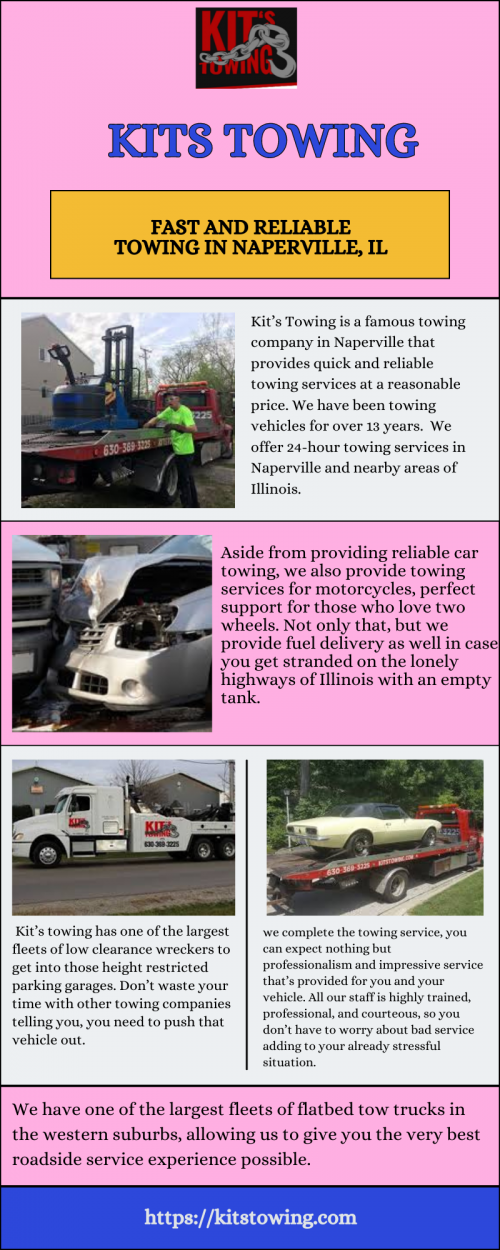 Fast and Reliable Towing in Naperville, IL