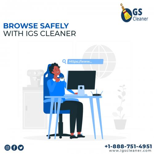 Browse Safely With IGS Cleaner
