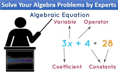 Solve Your Algebra Problems by Experts