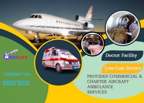 Budget-Friendly and Medical Setups Air Ambulance Service by Medilift