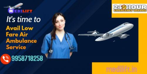 The Complete Medical Support Medilift Air Ambulance at Low Fare