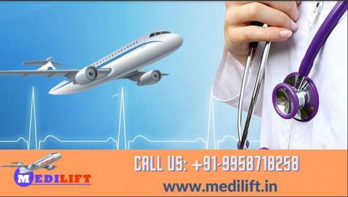 Medilift Air Ambulance in Delhi and Patna