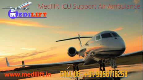 Medilift Top-Level Emergency Air Ambulance from Patna to Delhi