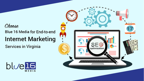 Choose Blue 16 Media for End-to-End Internet Marketing Services in Virginia