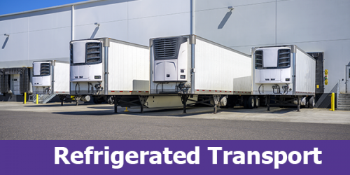 Refrigerated Trucking Services While Moving Temperature-Sensitive Items. Call Now