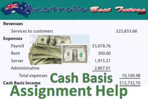 Cash Basis Assignment Help