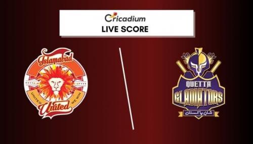 Pakistan Super League 2021 Live Score: PSL 2021 Match 18 ISL vs QUE Live Cricket Score Ball by Ball Commentary, Scorecard & Results