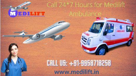 Meilift Air Ambulance in Mumbai