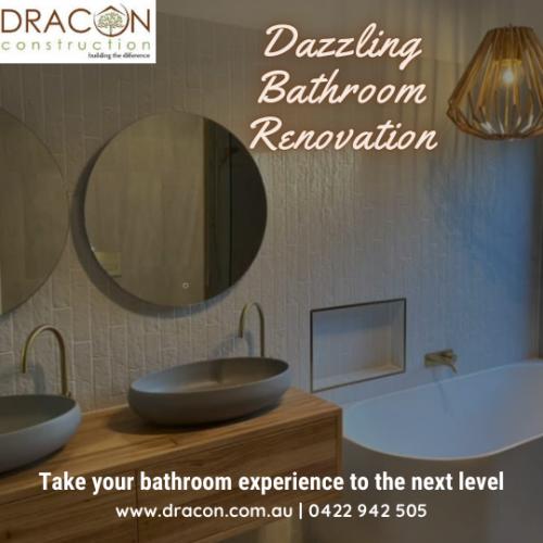Dazzling Bathroom renovation