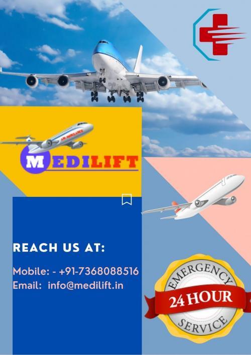 Medilift Fastest & Reliable Air Ambulance Service in Mumbai & Chennai