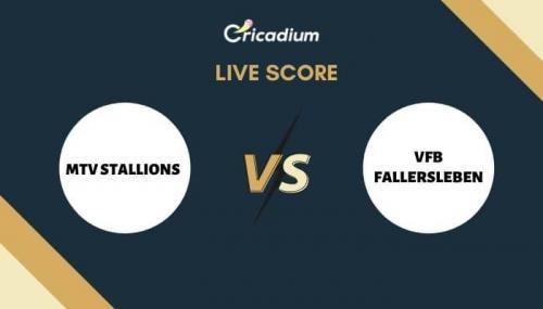 ECS Germany, Kiel, 2021 Live Cricket Score: 4th Quarter Final MTV vs VFB Live Cricket Score Ball by Ball Commentary, Scorecard & Results