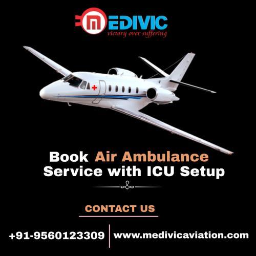 Medivic Aviation Air Ambulance 247 Service at an Affordable Range in Patna & Delhi