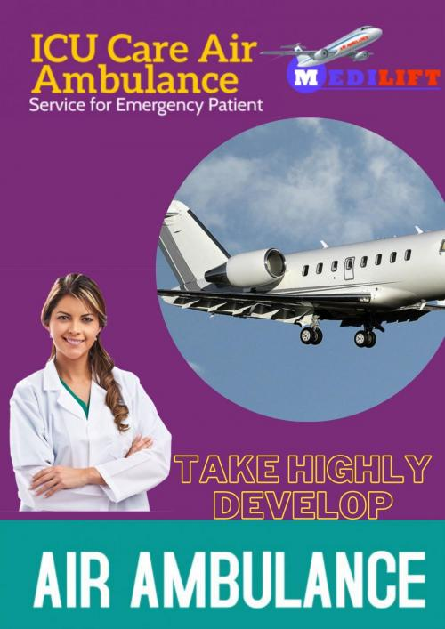 Get Our Obtainable ICU Support Air Ambulance at Low Fare