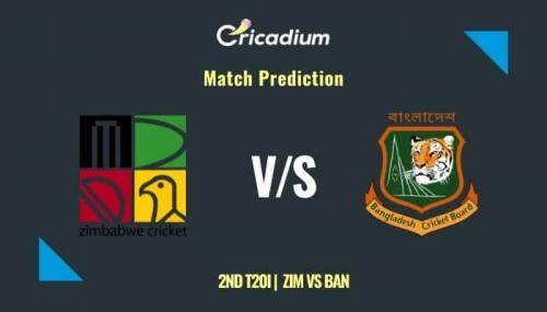 Bangladesh tour of Zimbabwe, 2021 2nd T20I ZIM vs BAN Match Prediction Who Will Win Today