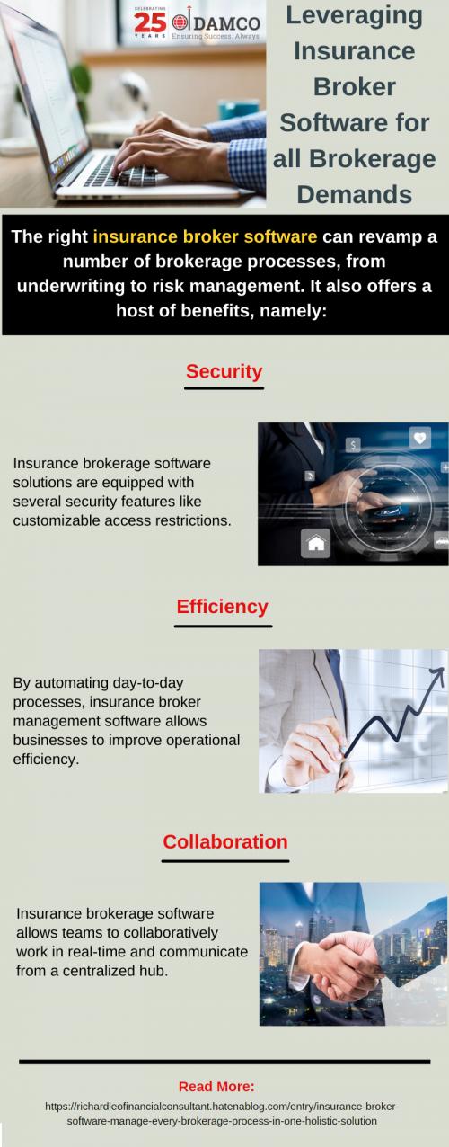 Leveraging Insurance Broker Software for all Brokerage Demands