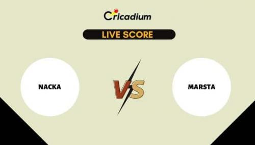 ECS Sweden, Stockholm, 2021 Live Cricket Score: Match 37 NAC vs MAR Live Cricket Score Ball by Ball Commentary, Scorecard & Results