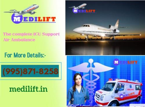 Avail Medilift ICU Support Air Ambulance Service