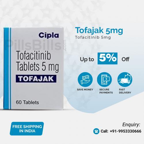 Buy Tofajak 5mg Tablet Online in India