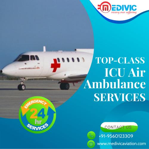 Medivic Aviation Affordable Air Ambulance Service In Mumbai & Guwahati
