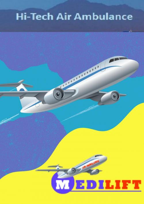 Medilift Air Ambulance in Guwahati and Delhi – Reliable Patient Transfer