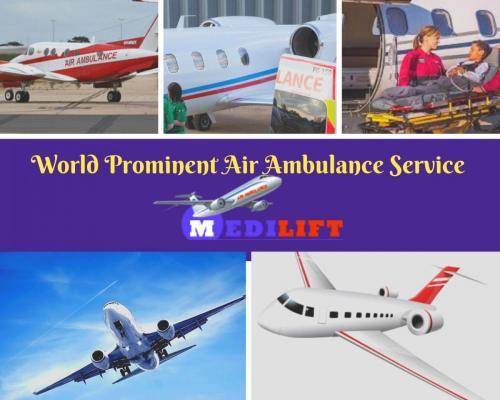 Full Medical Support Air Ambulance at Reasonable Fare