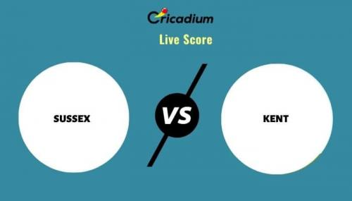 Royal London One-Day Cup, 2021 Match 30 SUS vs KEN Live Cricket Score Ball by Ball Commentary, Scorecard & Results