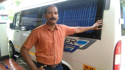 Santhosh Raghavan Cab in Kerala