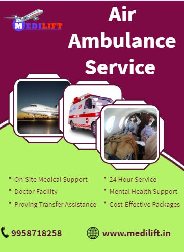 Medilift Demandable Air Ambulance in Mumbai at Reasonable Fare