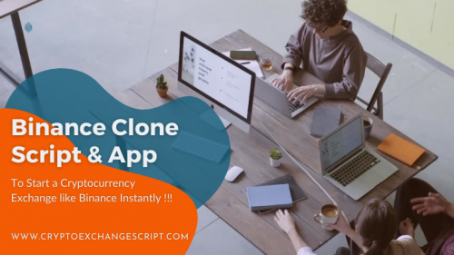 binance clone script app