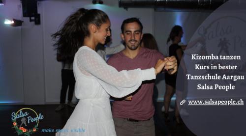 Kizomba tanzen Kurs in bester Tanzschule Aargau | Salsa People