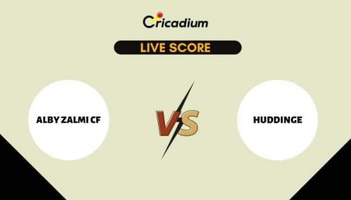 ECS Sweden, Stockholm, 2021 Live Cricket Score: Match 38 ALZ vs HUD Live Cricket Score Ball by Ball Commentary, Scorecard & Results