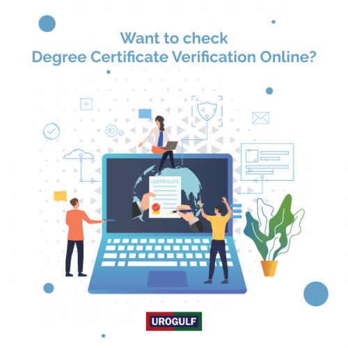 Degree Certificate Verification Online
