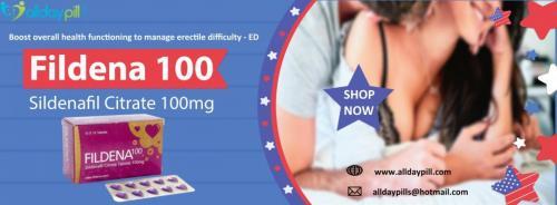 Fildena 100 purple pill l Sildenafil Citrate 100 mg