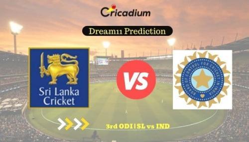 SL vs IND Dream11 Team Prediction: India tour of Sri Lanka, 2021, 3rd ODI Sri Lanka vs India Fantasy Cricket Tips July 23rd, 2021