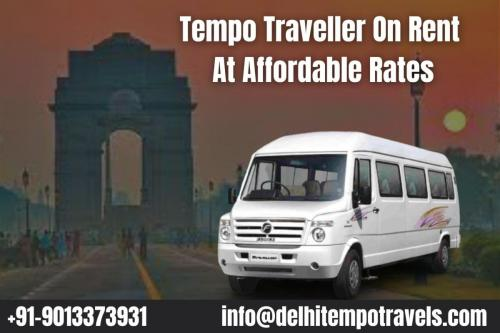 Tempo Traveller On Rent At Affordable Rates