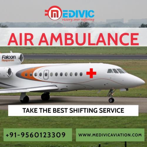 Medivic Aviation Air Ambulance Service in Patna & Delhi with ICU Facility