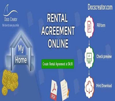 Docscreator – Create a Customize Rental Agreement Online