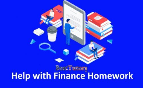 Help with Finance Homework