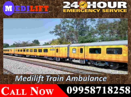 Medilift Train Ambulance Facilities in Patna and Bangalore at Low Cost with Medical Team 02